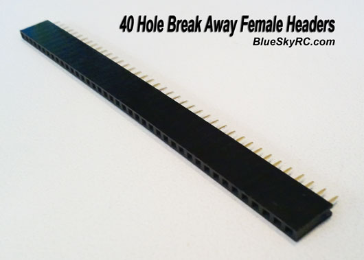 Break Away Female Headers - 40 hole